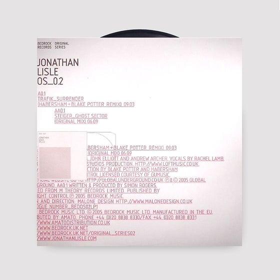 Image of Jonathan Lisle - Original Series LP1 Trafik Habersham Steiger - last copies in stock