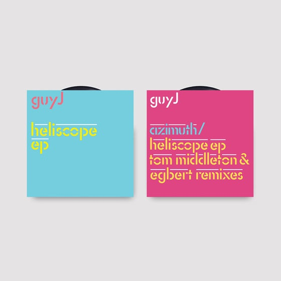 "Image of Guy J - Azimuth & Heliscope/Easy As Can Be Remixes & Heliscope EP 2x12"" last remaining copies"
