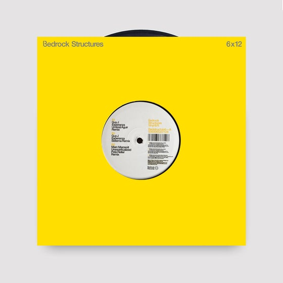 """Image of Guy J Esperanza remixes - John Digweed Structures 12"""" Vinyl 6 - Last 20 copies in stock"""