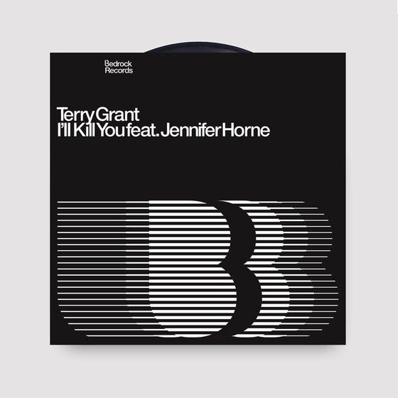 "Image of Terry Grant Feat. Jennifer Horne I'll Kill You 12"" Vinyl - last 10 copies"