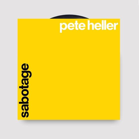 "Image of Pete Heller - Sabotage 12"" Single"