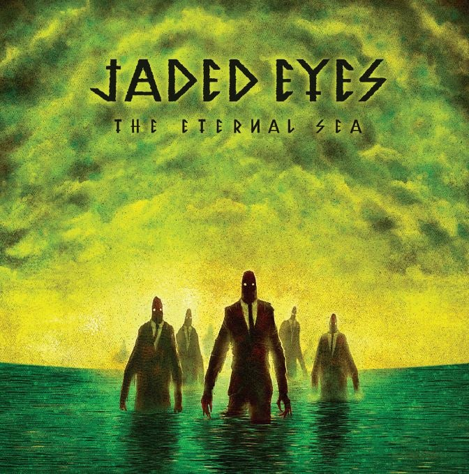Image of Jaded Eyes - The Eternal Sea Ltd Edition Coloured Vinyl LP with CD included