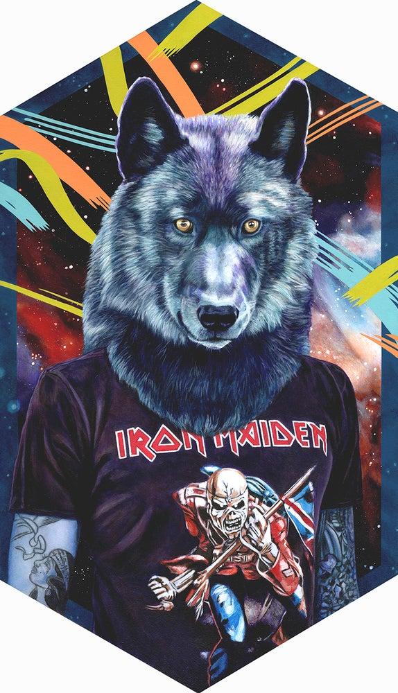Image of Vilkas (Black Wolf)