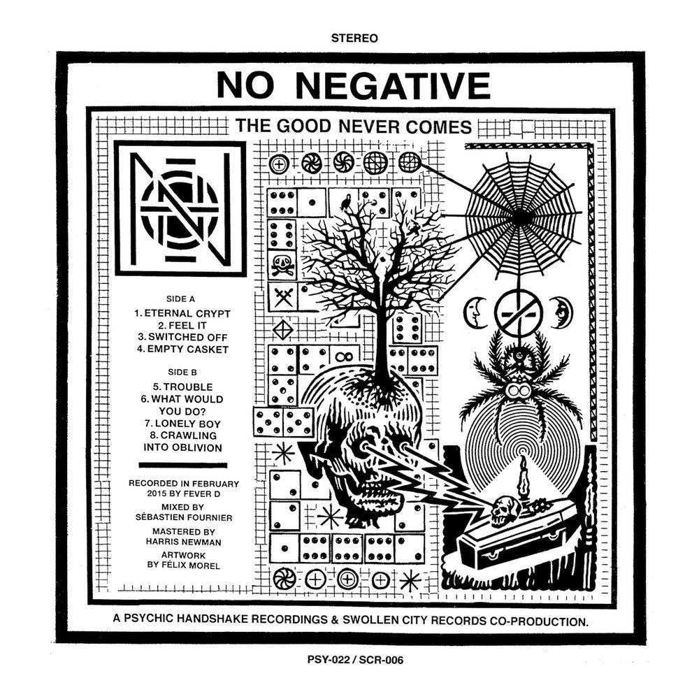 """Image of No Negative - The Good Never Comes 12"""" LP"""