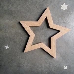 Image of Etoile en bois - Woodstar