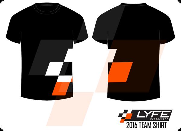 Image of LYFE Motorsport 2016 Team Shirt