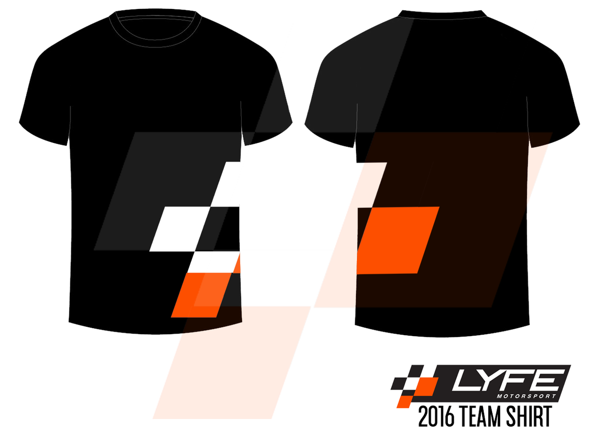 Image of LYFE Motorsport 2016 Team Shirt