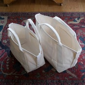 Image of Deluxe canvas boat totes