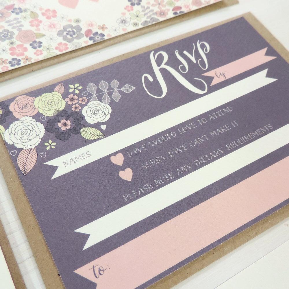 Image of Love Heart 'Write Your Own' Wedding Range