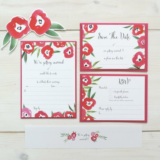 Image of Passion Bloom 'Write Your Own' Wedding Range