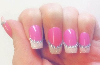 Image of Crystal Glitter Tips