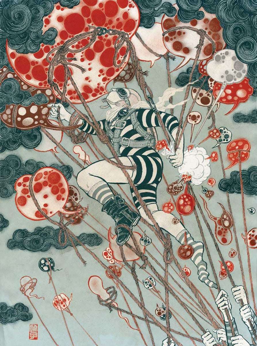 Yuko shimizu online store only 2 left limited edition of for Online art stores us