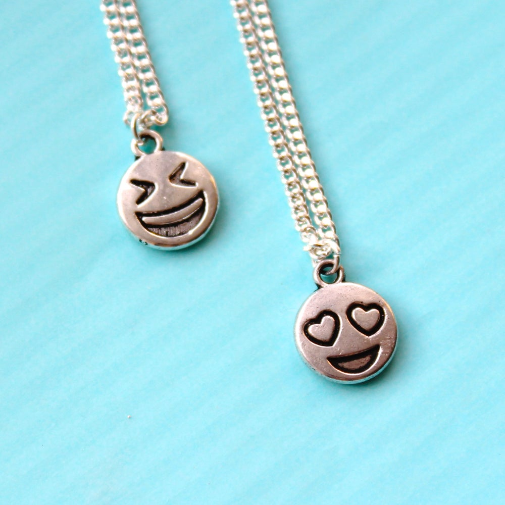 Image of SMILEY EMOTICON FACE JEWELLERY