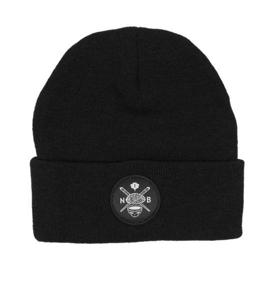 Image of Evil Crest Beanie (Black)
