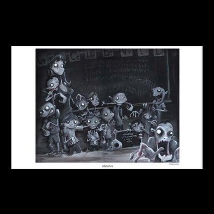 Image of Brains Art Print