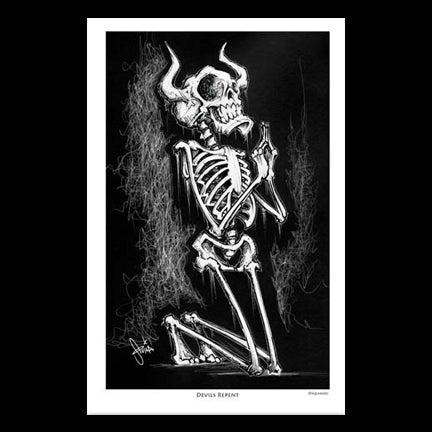 Image of Devils Repent Art Print