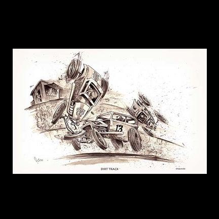 Image of Dirt Track Art Print