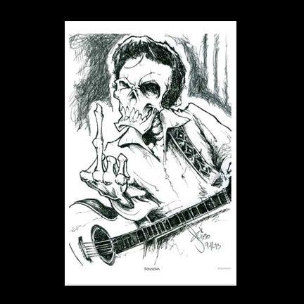 Image of Folsom Art Print