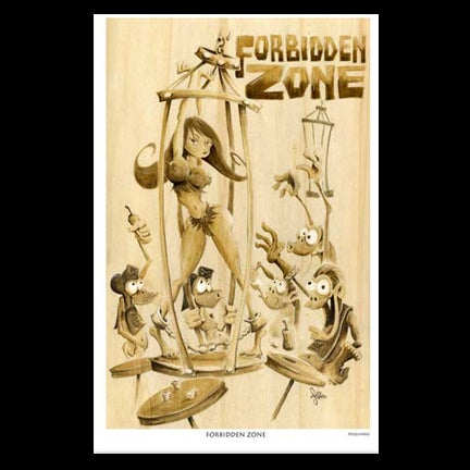 Image of Forbidden Zone Art Print