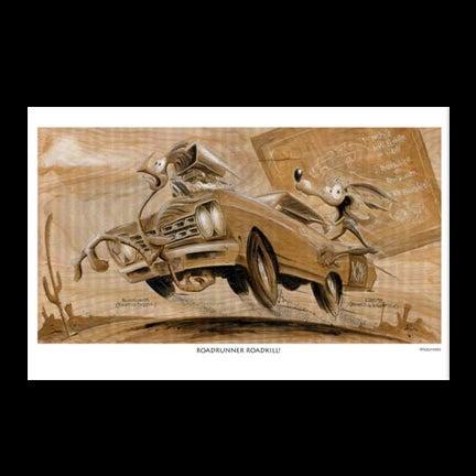 Image of Roadrunner At Print