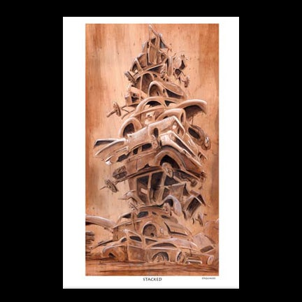 Image of Stacked Art Print