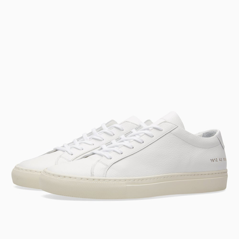 Image of Common Projects Achilles Low Limited Edition - WHITE