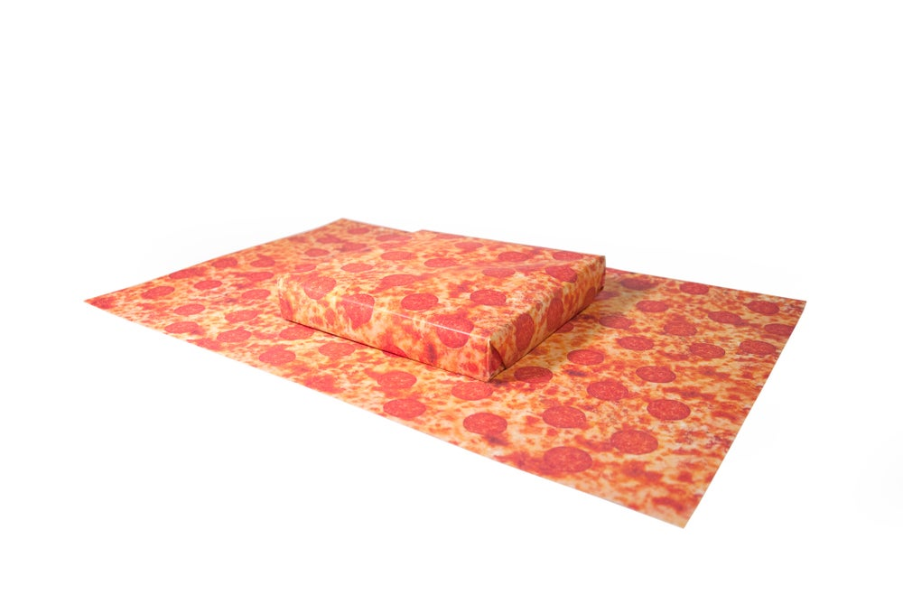 Image of Pizza Wrapping Paper