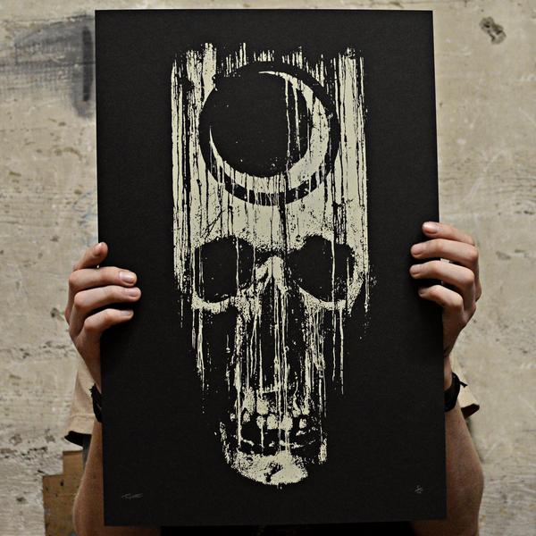 "Image of ""Dying Light"" Screenprint"