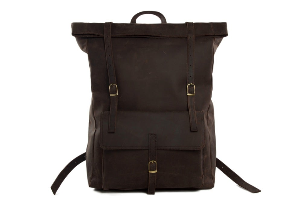 Image of New Design Handmade Genuine Leather Backpack, Travelling Backpack MG31