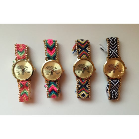 Image of Bohemian Elephant Face watch