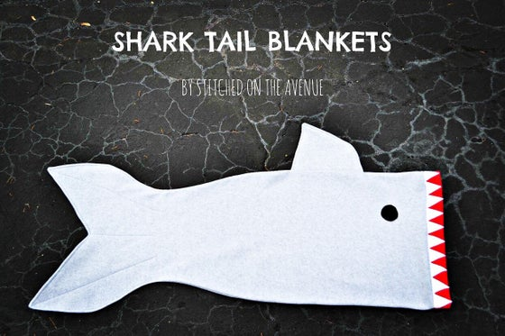 Image of Shark Tail Blanket