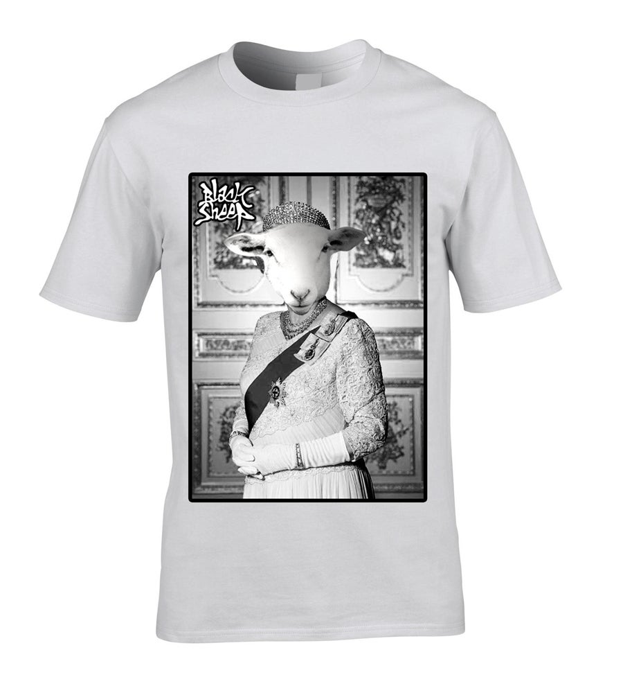 Image of THE QUEEN X BLACK SHEEP T-SHIRT
