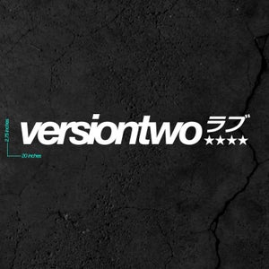 Image of Versiontwo ラブ - Stars Banner