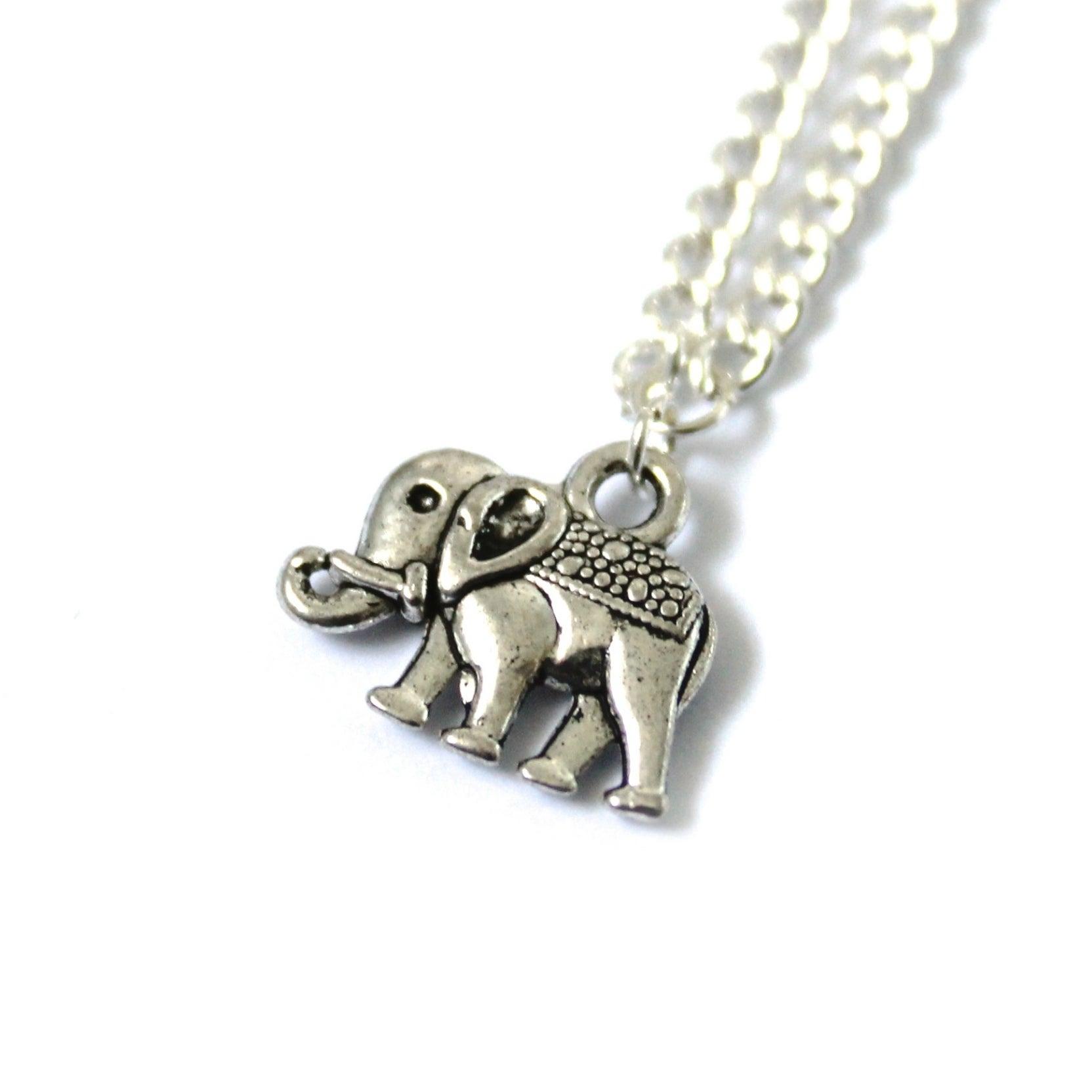 delicate elephant jewellery pastel clouds