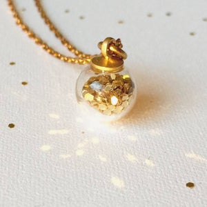 Image of Little Pieces of Glitter - gold