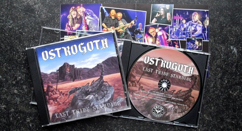 Image of LAST TRIBE STANDING - Jewel Case CD