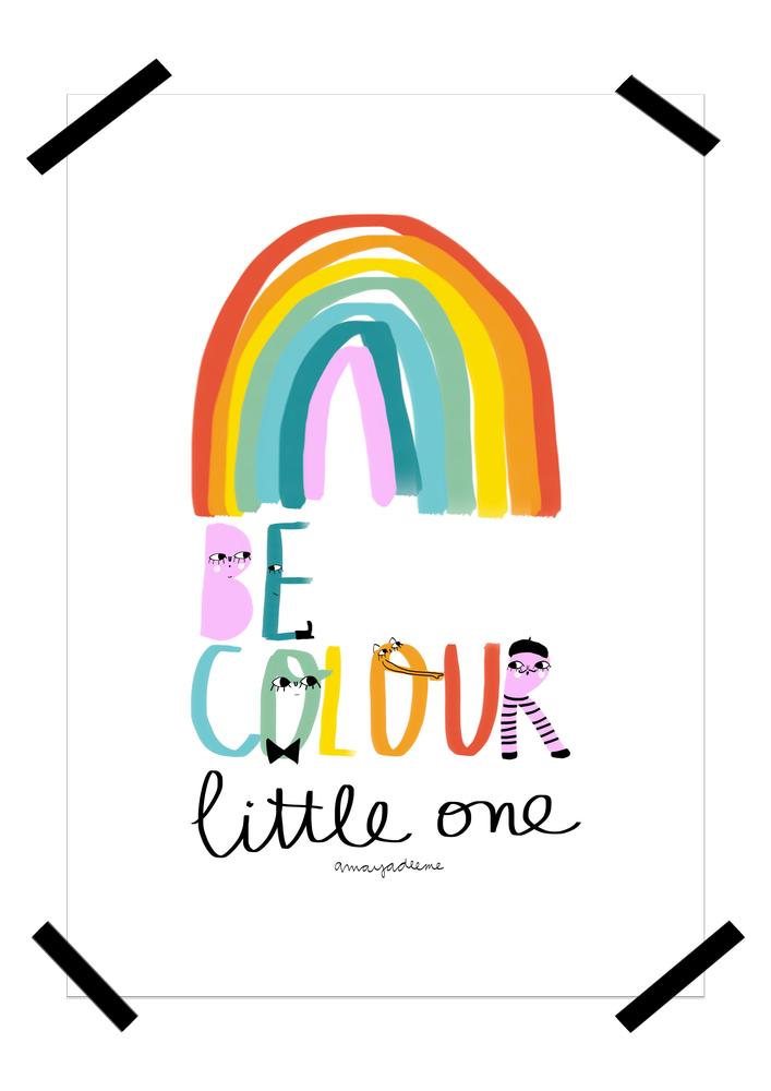 """Image of Lámina """"Be colour"""""""