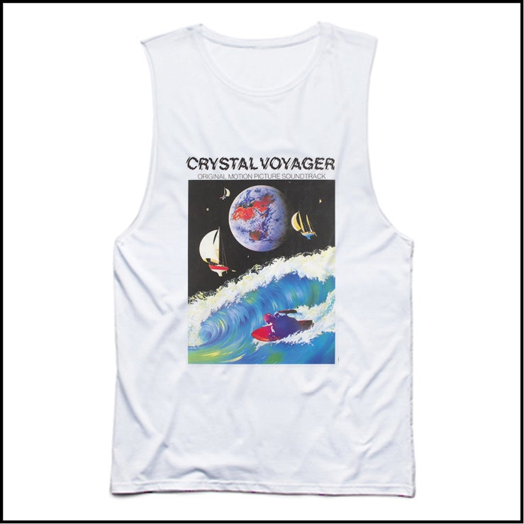 Image of CRYSTAL VOYAGER T BACK SINGLET