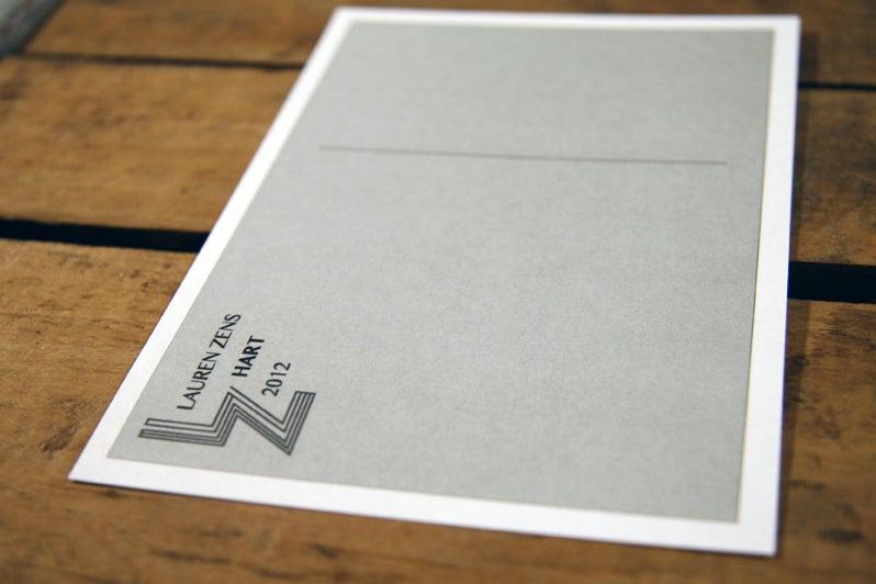 "Image of ""Hart"" Postcard"