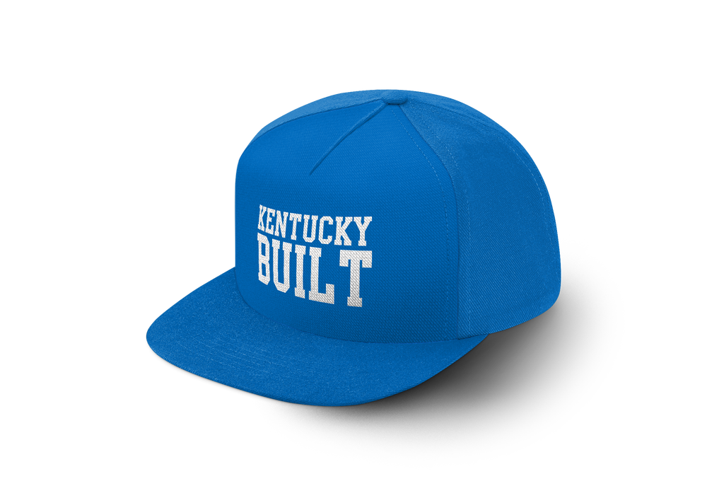 "Image of Kentucky Built Hat ""Original""- Blue"
