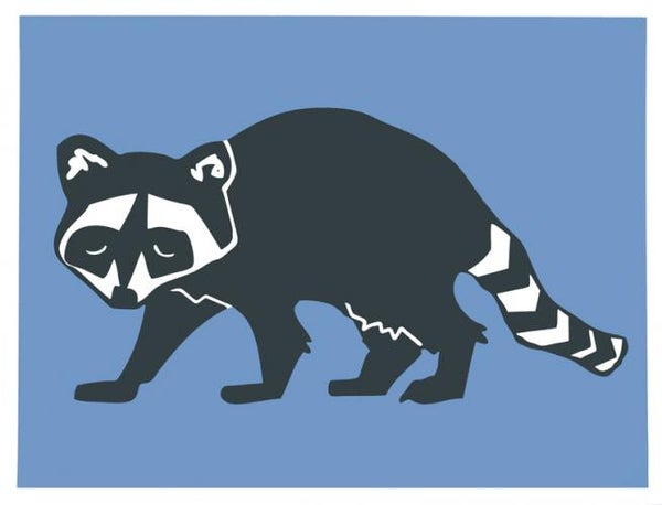 Image of Raccoon Print