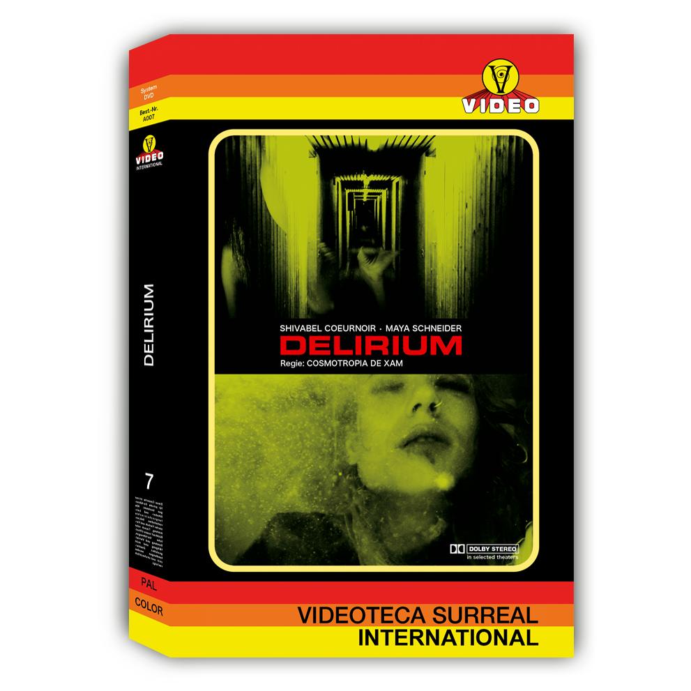 Image of PRE-ORDER: DELIRIUM - DVD HARDBOX DESIGN C (VINTAGE)