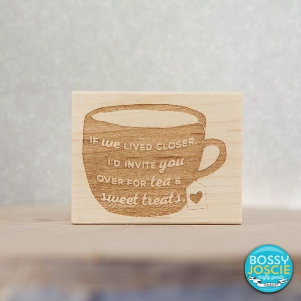 Image of Tea and Sweet Treats Stamp