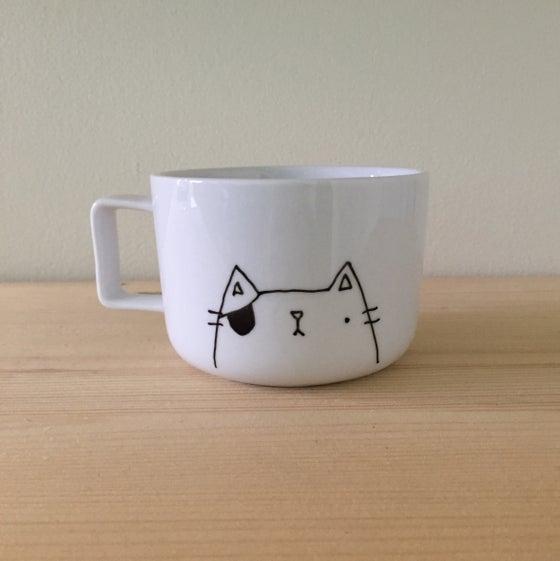 Image of everyday white mug -- ready to ship!