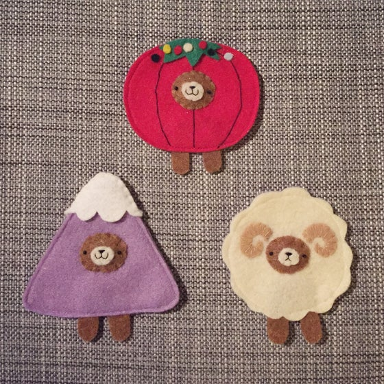 Image of 2015 incognito bear ornaments!