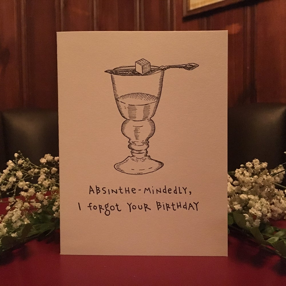 Image of Absinthe-Mindedly