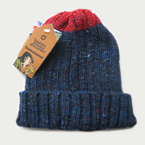 Image of McMURPHY HAT [NAVY WITH RED]