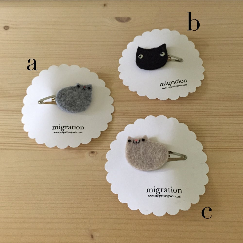 Image of cat + catloaf mini clips