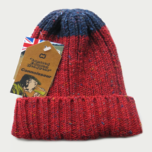 Image of McMURPHY HAT [RED WITH NAVY]