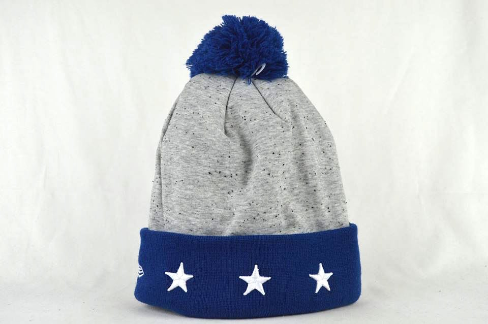 Image of INDIANAPOLIS COLTS NFL HEATHER SPEC NEW ERA BEANIE